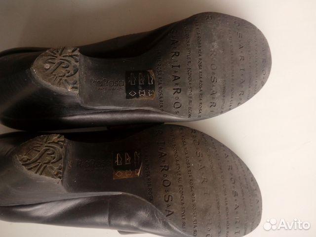 Туфли кожаные с ремешком. Эконика.Ria Rosa.36р-р 89117015256 купить 9