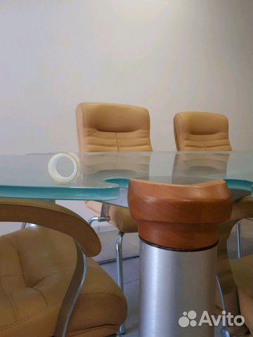 Итальянский переговорный стол с креслами 89038585678 купить 5