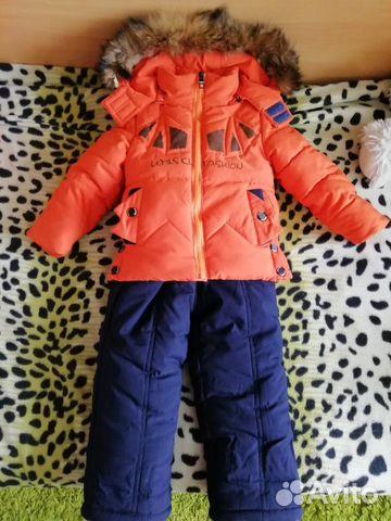 Зимний костюм на мальчика 89201047143 купить 1