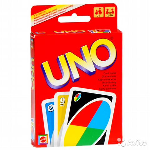 84942303606  Настольная игра Уно (UNO)