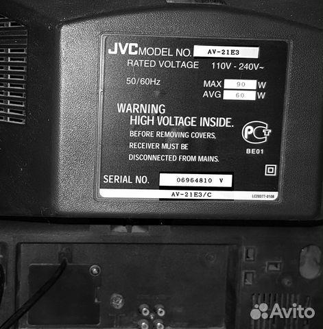 Телевизор JVC AV-21 E3/С, цветной, кинескопный 89787224048 купить 2
