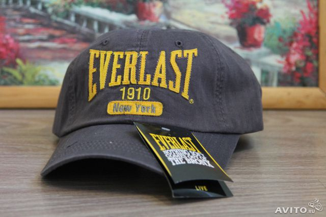 Бейсболка хлопок Everlast 1910 New York новая— фотография №1