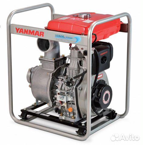 Дизельная мотопомпа Yanmar 1300 л/мин 100/100 мм