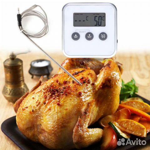 Термометр-таймер с выносным датчиком 89089404104 купить 1