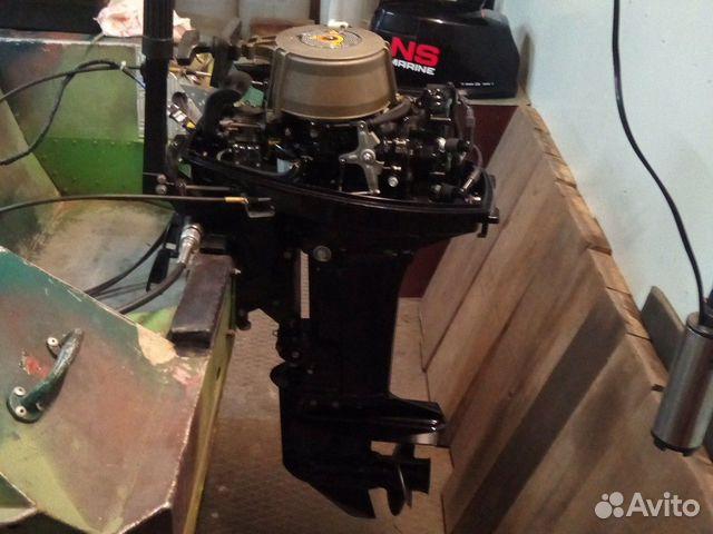 Продается лодочный мотор 2тк Нисан купить 4