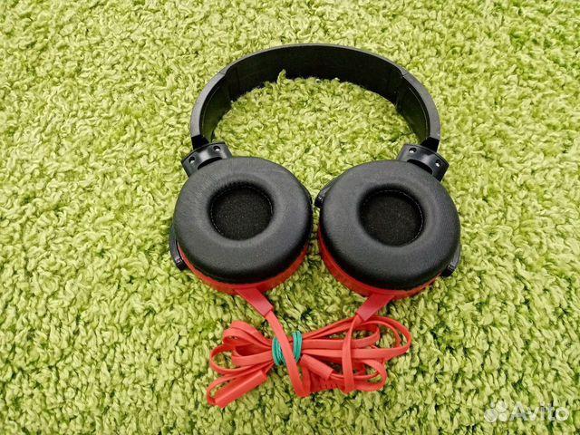 Наушники Sony MDR-XB450AP(кр90б)  89914629533 купить 3