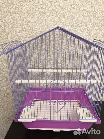 Клетка новая для птиц 89061309030 купить 2