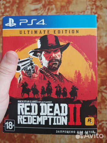 RDR 2 Ultimate Edition купить 1