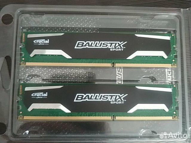 Оперативная память Crucial Ballistix Sport DDR3 8G  89156519330 купить 2