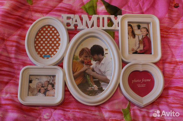 Рамка для фотографий Family  купить 1