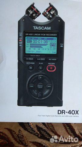 Рекордер Tascam DR 40x  купить 1