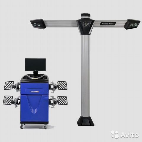 Стенд сход развала 3D Техно Вектор V 7204 T A