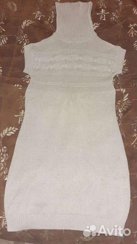 Платье вязаное теплое  89273885622 купить 1