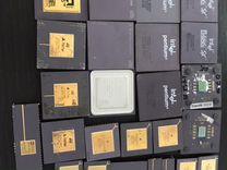 Старые керамические Процессоры коллекция
