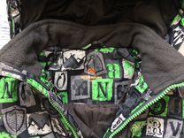 Куртка мембрана зимняя рост 110