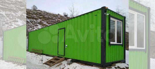 Блок контейнер новый,Модуль, пост на кпп купить в Санкт-Петербурге | Для бизнеса | Авито