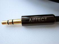 Аудиокабель Aiffect 3.5 мм Jack на 2 RCA
