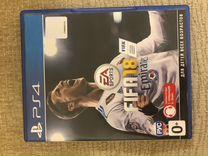 PS4 PRO + 2 геймпада + fifa 18