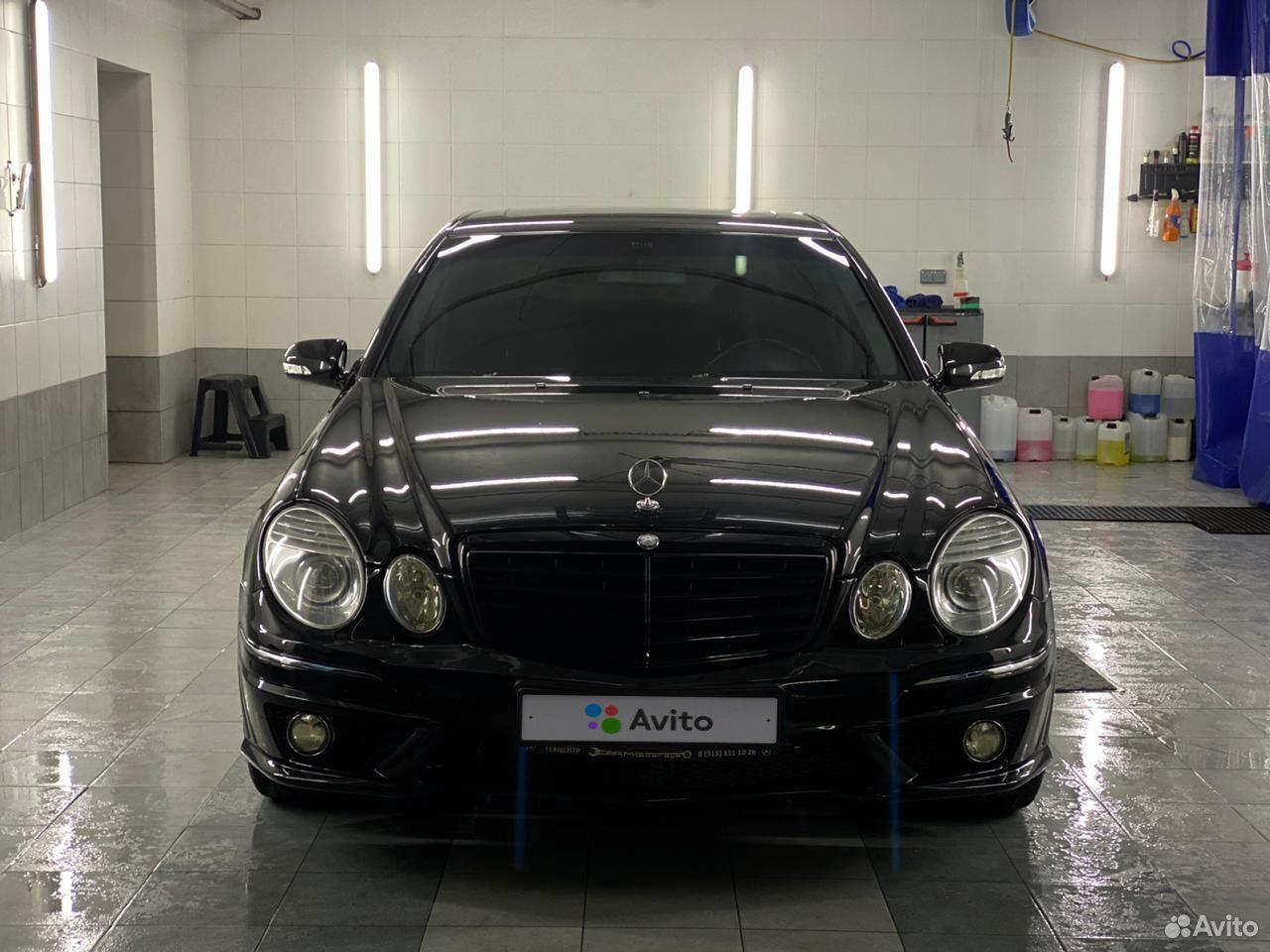 Mercedes-Benz E-klass AMG 2003  89635921167 köp 6