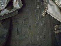Байкерская куртка AGV куртка кожанная мото куртка