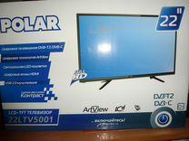 """Телевизор polar 22"""""""