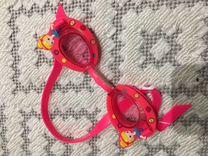 Очки детские для плавания плюс шапочка в подарок
