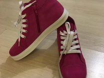 Ботинки новые натуральная кожа р.37,5