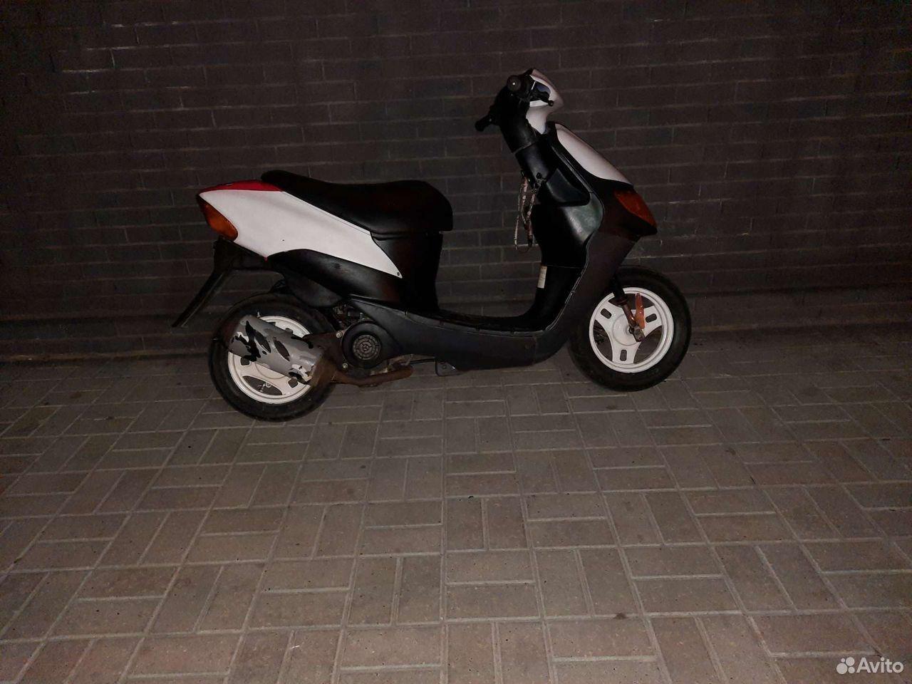 Suzuki lets 1 скутер 2т