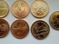 США -Сакагавея 12 монет по 1 доллару