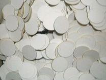 Кружки конфетти из картона для поделок диаметр 33