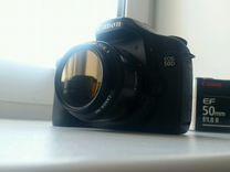 Canon 50d+объектив — Фототехника в Магнитогорске