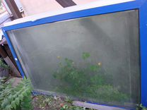Пластиковые окна (рамы) большие б\у 10шт