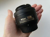 Объектив Nikon AF-S DX Nikkor 35mm f/1.8G — Фототехника в Москве