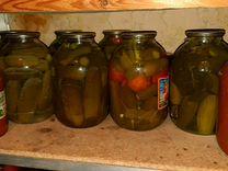 Огурцы, помидоры, соления, варенье