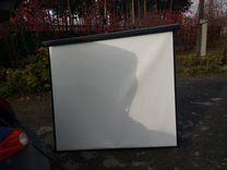 Экран для проектора матовый белый