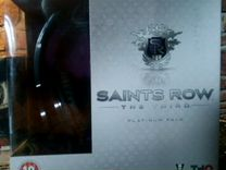 Игра Xbox 360 Saints Row the third platinum pack