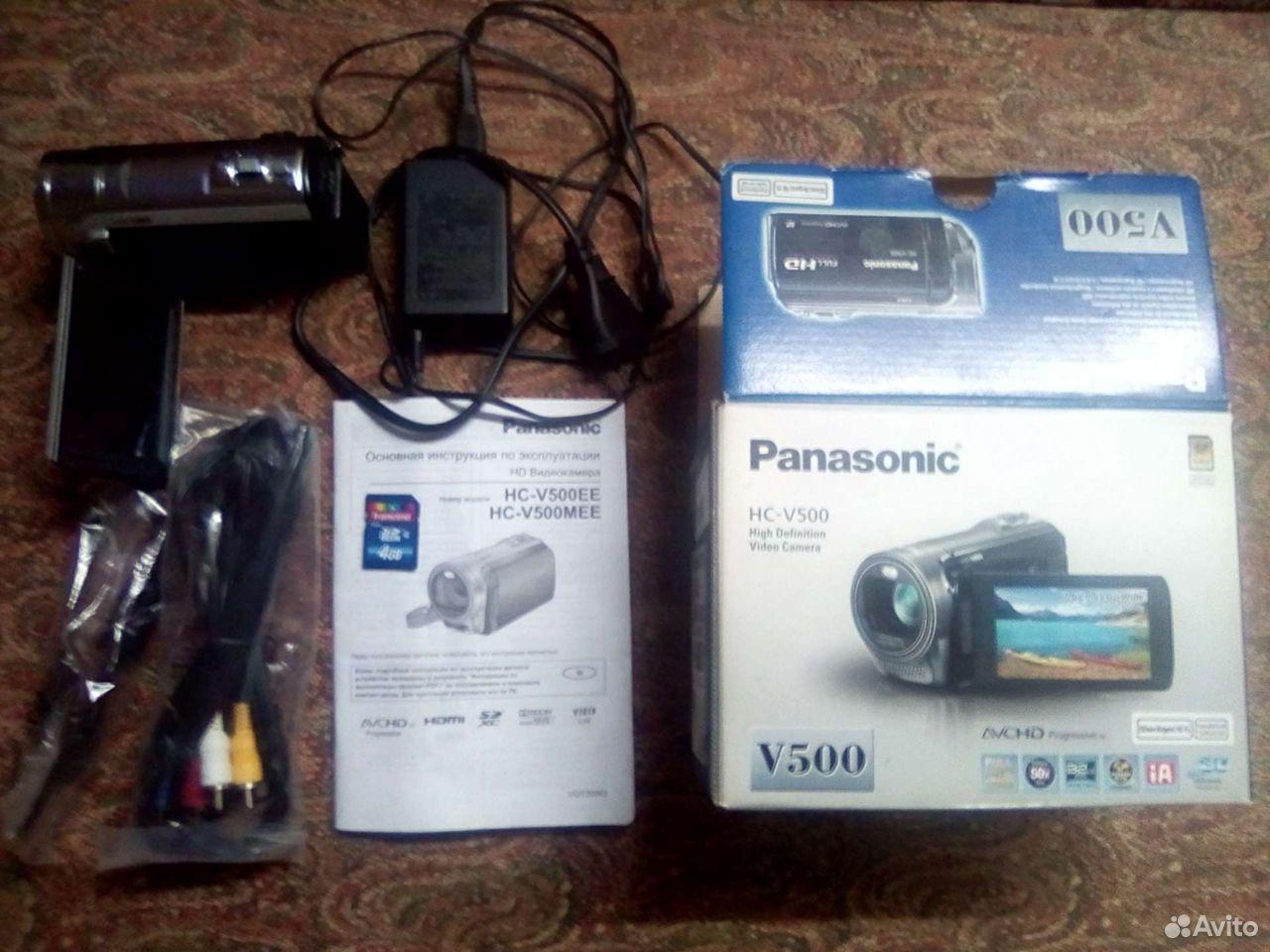 Видеокамера Panasonic HC-V500 Full HD  89373707500 купить 3