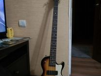 Электра-полуаккустическая бас гитара Ktone