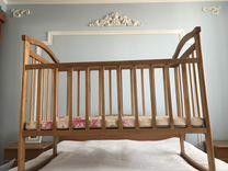 Матрас новый в детскую кроватку