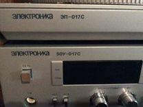Электроника 017 проигрователь винила комплект