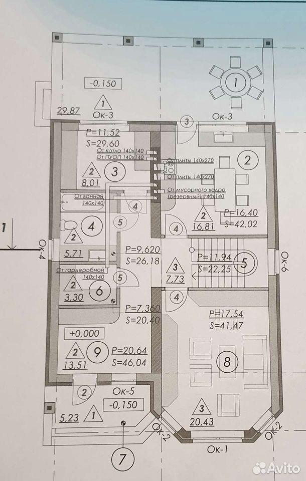 Проект дома  89050000655 купить 4