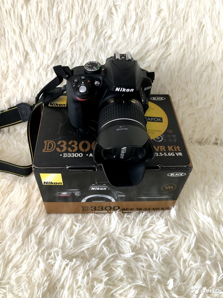 Фотоаппарат Nikon D3300AF-P 18-55VR Kit зеркальный  89177610980 купить 8