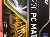 Msi H270 PC mate