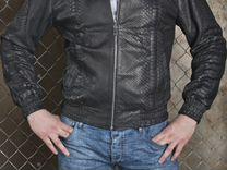 Куртка мужская из натуральной кожи питона С.5