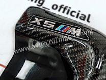 Жабры на BMW X5 f15 в стиле М performance карбон