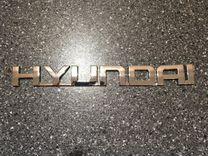 Наклейка -шильдик на Hyundai