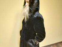 Шуба мутоновая с бобровой отделкой — Одежда, обувь, аксессуары в Москве