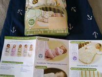 Пеленки SwaddleMe и спальный мешок/конверт H&M
