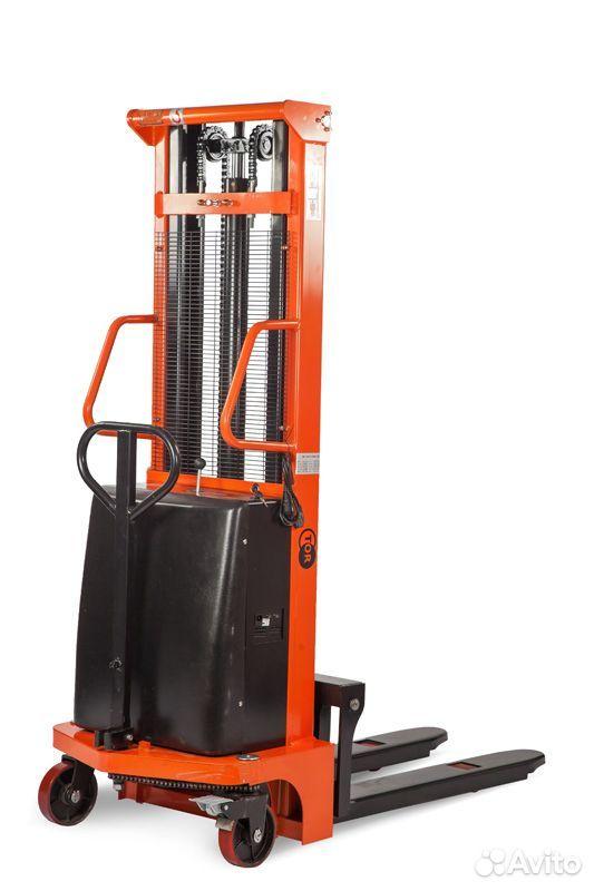 Штабелер гидравлический С электроподъемом TOR 1016  89601194386 купить 1