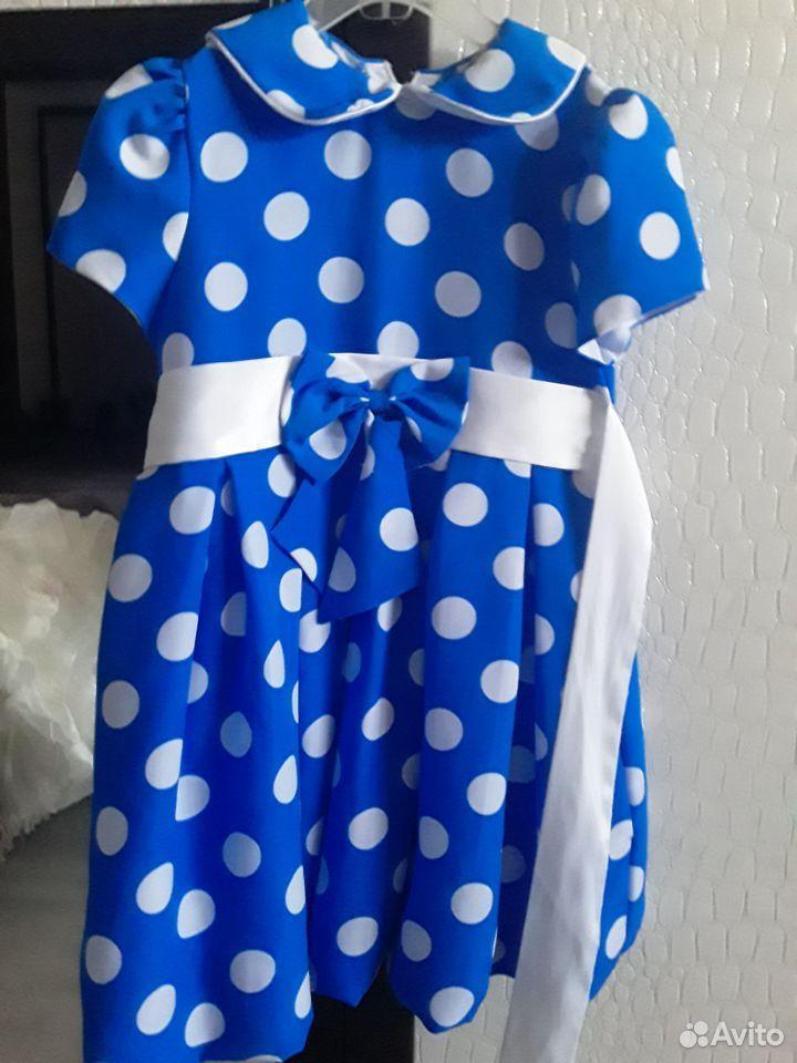 Платье в горошку 89050294083 купить 4
